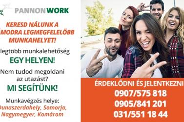 Keresd nálunk a számodra legmegfelelőbb munkahelyet!