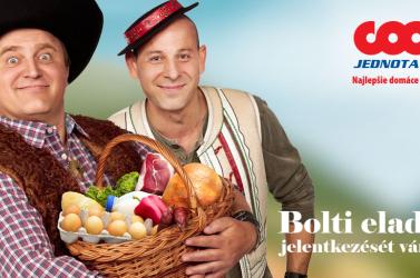 A COOP Jednota Dunaszerdahely bolti eladók jelentkezését várja!