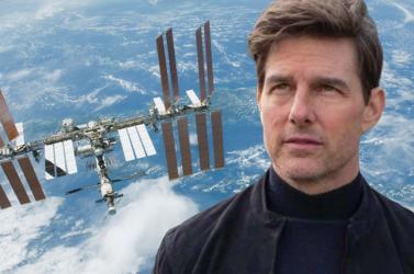 Tom Cruiseegy űrfilmen dolgozik,amelyetNemzetközi Űrállomáson forgatnának
