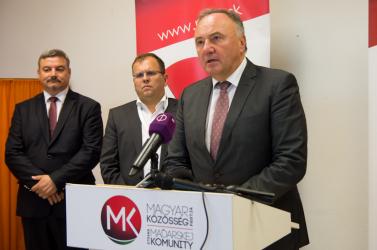Ismertették az MKP képviselőjelöltjeit a májusi EP-választásra