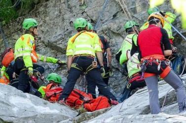 BORZALOM:Lezuhant ésmeghaltegy cseh ultrafutó az Alpokban