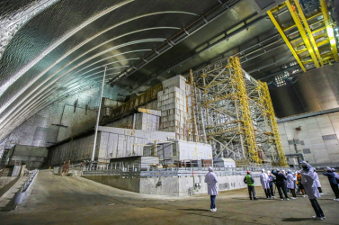 Magas sugárzást mértek a csernobili atomerőműben