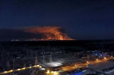 Sikerült teljesen eloltani a tüzeket a csernobili zónában