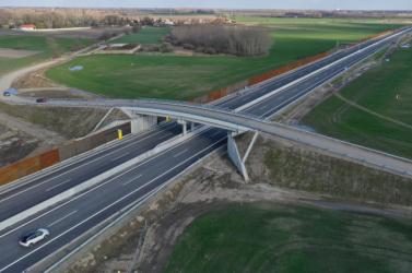 A kivitelező megerősítette, vasárnap megnyitják az R7-es gyorsforgalmi utat és a D4-es egy szakaszát
