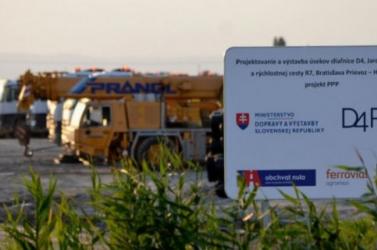 Hétfőtől újabb forgalomkorlátozások várhatók a D4/R7 építése miatt