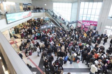 Rekordot döntött a Liszt Ferenc repülőtér utasforgalma!
