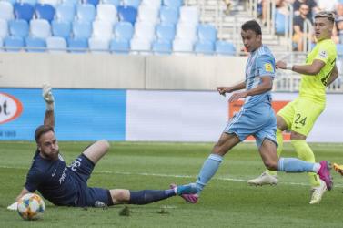 Olaszországba tart a Slovan fiatal támadója?