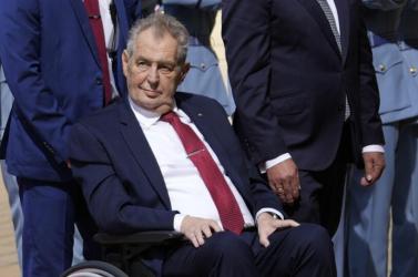 Cseh kormányalakítás - a kórház szerint Zeman jelenleg nem képes ellátni feladatait
