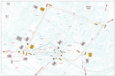 Hétfőtől ismét súlyos dugók várhatók a dunaszerdahelyi belvárosban