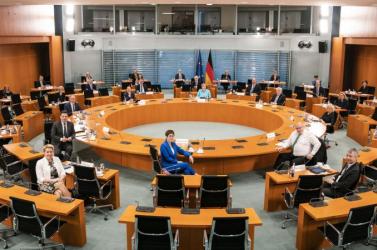 Július elsejétőlNémetországtölti beaz Európai Unió soros elnökségét