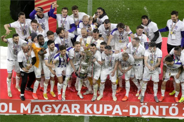 MOL Magyar Kupa - Hosszabbításban diadalmaskodott az Újpest