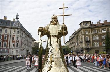 Augusztus 20. - Magyarország jövőjét hangsúlyozták az ünnepi beszédekben (FOTÓK)
