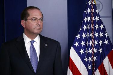 Lemond az amerikai egészségügyi miniszter a Capitolium elleni támadás miatt