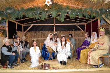 Élő Betlehem látható Alsójányokon