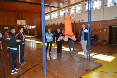 Kilencedikesek tehetségvizsgáztak a középfokú sportiskolában
