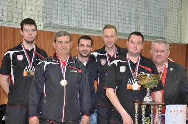 Újra szlovák bajnok a hodosi pingpongcsapat!