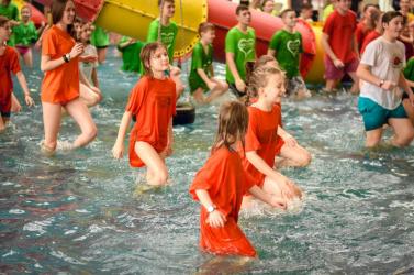 Kihívás napja, avagy igazi családi program a nagymegyeri termálfürdőben