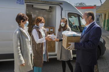 Dél-szlovákiai egészségügyi intézmények koronavírus-járvány megfékezése érdekében kifejtetett erőfeszítéseit támogatja Magyarország