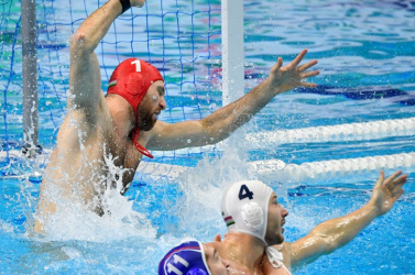 Vízilabda Eb: Elődöntős a magyar férfiválogatott