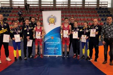 Öt dunaszerdahelyi aranyérem a juniorok országos bajnokságán
