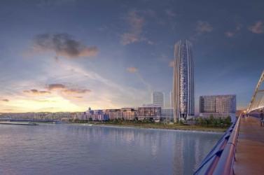 Felhőkarcolót épít a pozsonyi Duna-parton a J&T