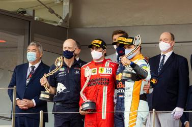 Monacói Nagydíj - Verstappen győzött, és az összetettben is vezet