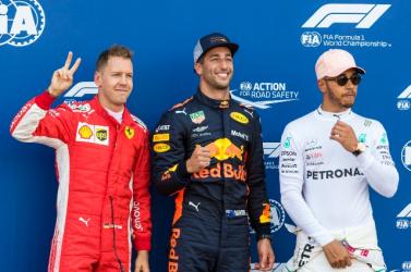 Monacói Nagydíj - Ricciardo nyerte az időmérőt