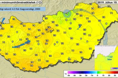 Itt a tél? Majdnem fagy volt Magyaroroszágon éjszaka!