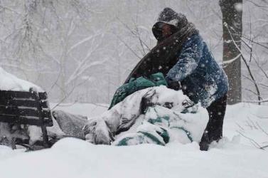 Elképesztő hideg vár a kínaiakra
