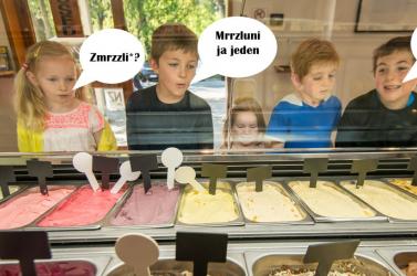 Hogyan kérnek gyerekeink szlovákul fagyit? Megy az nekik?