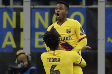 A Barcelona 150 millióért sem adja el Ansu Fatit