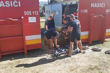 Stabilizálódott ahelyzet Görögországban, hétfőn indulhatnak haza aszlovák tűzoltók