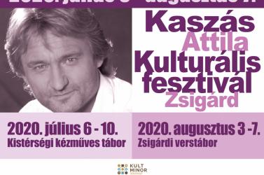 Kaszás Attila Kulturális fesztivál 2020