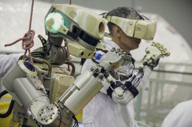 Nem alkalmas űrmissziókra Fedor, az orosz humanoid robot
