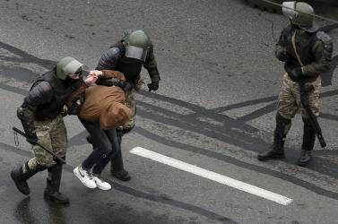 Fehérorosz válság - újabb újságírót vettek őrizetbe