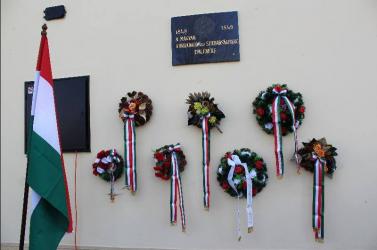 Felsővámoson is tisztelegtek '48 hősei előtt