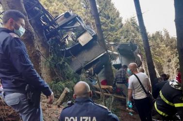 Közzétette az olasz közmédiaa májusi felvonóbaleset biztonsági kamerafelvételét
