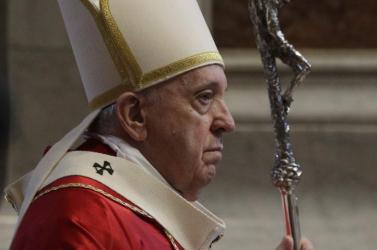 Hívek nélkül zajlott a virágvasárnap a Vatikánban, Ferenc pápa a járvány okozta lelki és gazdasági válságról beszélt