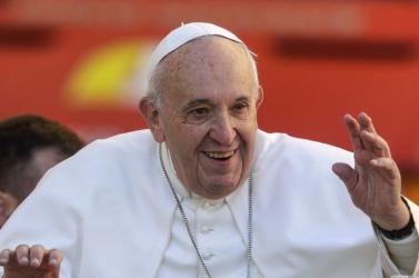 Ferenc pápa örül a hétvégi olasz és argentin diadalnak