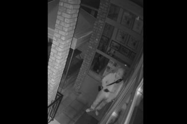 Megpróbáltak betörni a dunaszerdahelyi bárba – képeken az elkövető