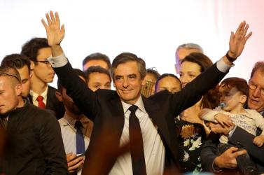 Fillon már látja maga előtt az elnöki széket