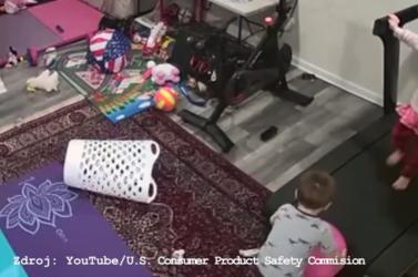 Kis híján bedarálta a kisfiút a futógép (VIDEÓ)
