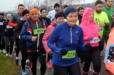 Dunaszerdahelyen tizennyolcadszor zajlik a népszerű szilveszteri futás