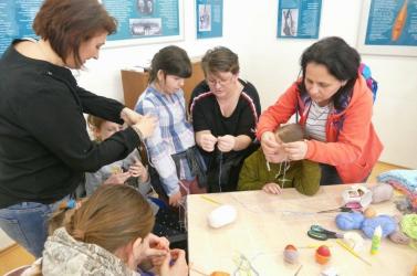 Húsvétváró kézműveskedés aGalántai Honismereti Múzeumban
