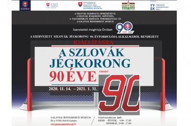 A szlovák jégkorong 90 éve