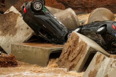 Németországban tovább nőtt az árvíz halálos áldozatainak a száma, Merkel a térségbe látogat