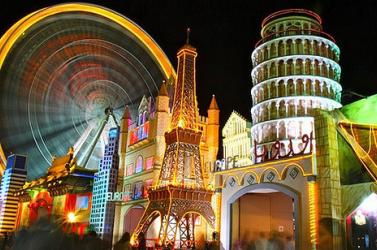 A világ legnagyobb fedett vidámparkja nyílik Dubajban