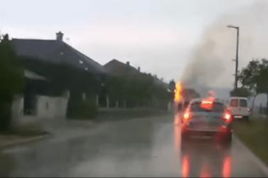 Gömbvillám pusztított Magyarországon (videó)