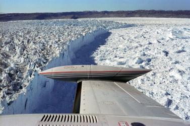 Már harmadik éve hízik a grönlandi gleccser