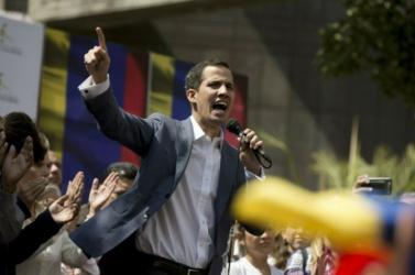 Az Európai Parlament elismerte az ideiglenes venezuelai elnököt